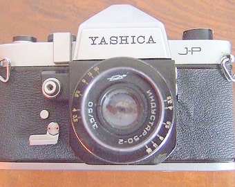 Yashica JP SLR Film Vintage Camera Body Only Good Parts