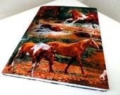 Wild horse notebook journal.