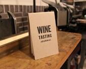 Letterpressed Wine Journal
