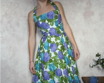 Vintage halterneck  60's dress