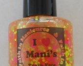 "NEON Glitter ""Typical Neon"" Hand Blended Nail Polish/Lacquer"