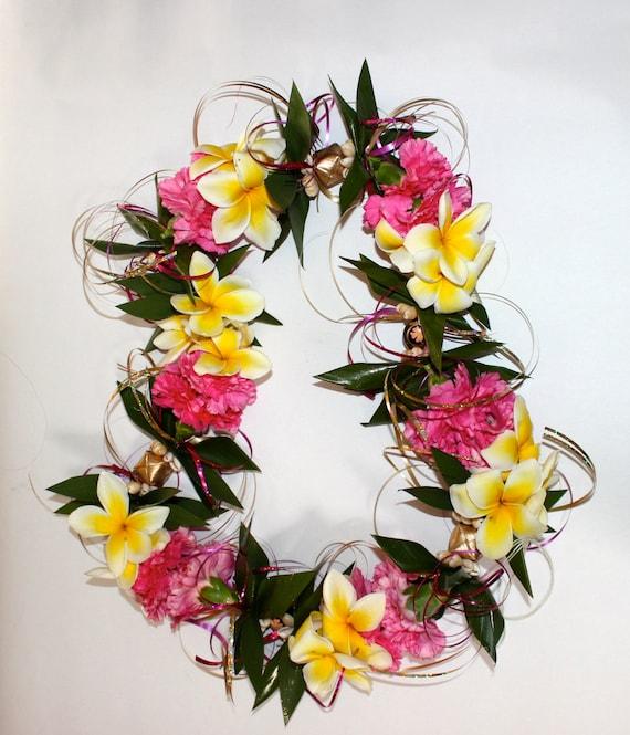 items similar to custom signature fresh flower lei with