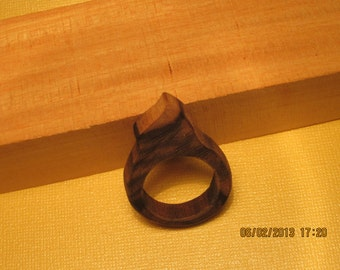 Macassar Ebony Ring