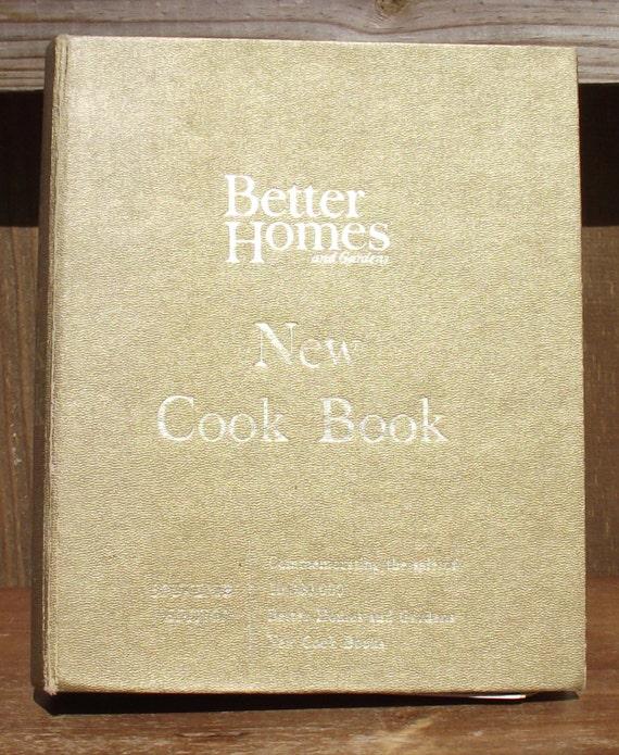 Better Homes New Cook Book Souvenir Edition 1965