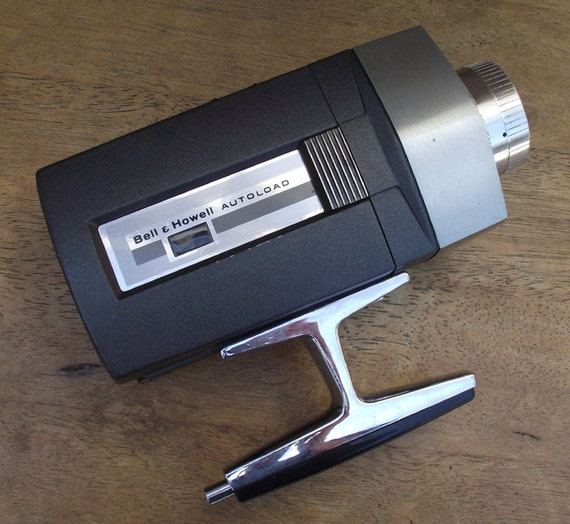 Vintage bell and howell super 8 camera