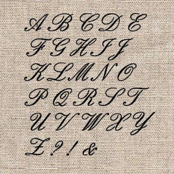 Unavailable listing on etsy Calligraphy stencil set
