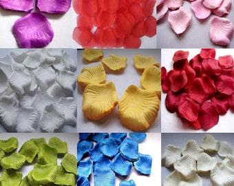 1000pc Silk Rose Petals Wedding Supplies wholesale (US Seller)