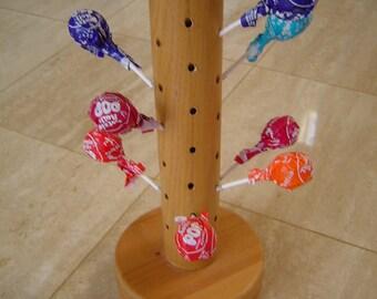 Wood lolly pop tree