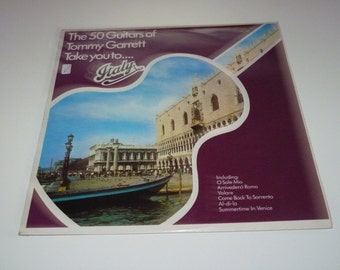 Tommy Garrett - The 50 Guitars Of Tommy Garrett Take You To Italy LP