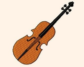Embroidery pattern - violin
