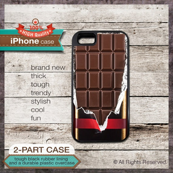 Chocolate bar design - iPhone 6, 6+, 5 5S, 5C, 4 4S, Samsung Galaxy S3, S4 - Cover 126