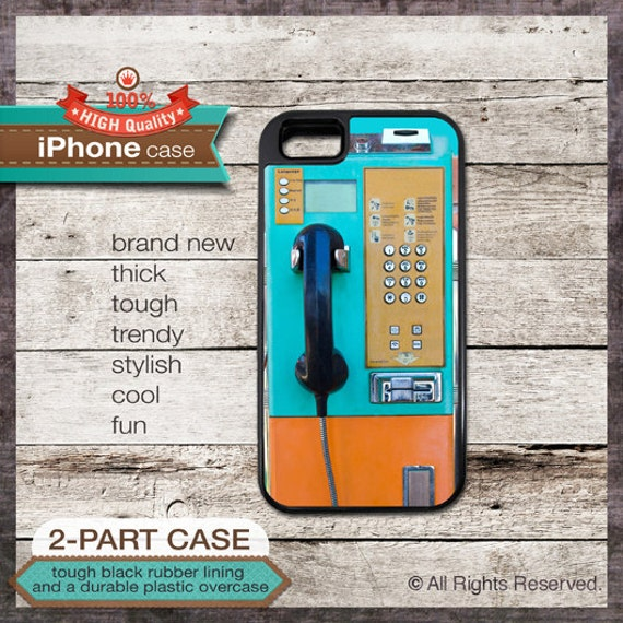 Phone booth vintage - iPhone 6, 6+, 5 5S, 5C, 4 4S, Samsung Galaxy S3, S4 131