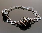 Copper Wire Cocoon Wrap Bracelet