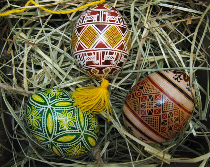 Traditional Ukrainian Pysanka