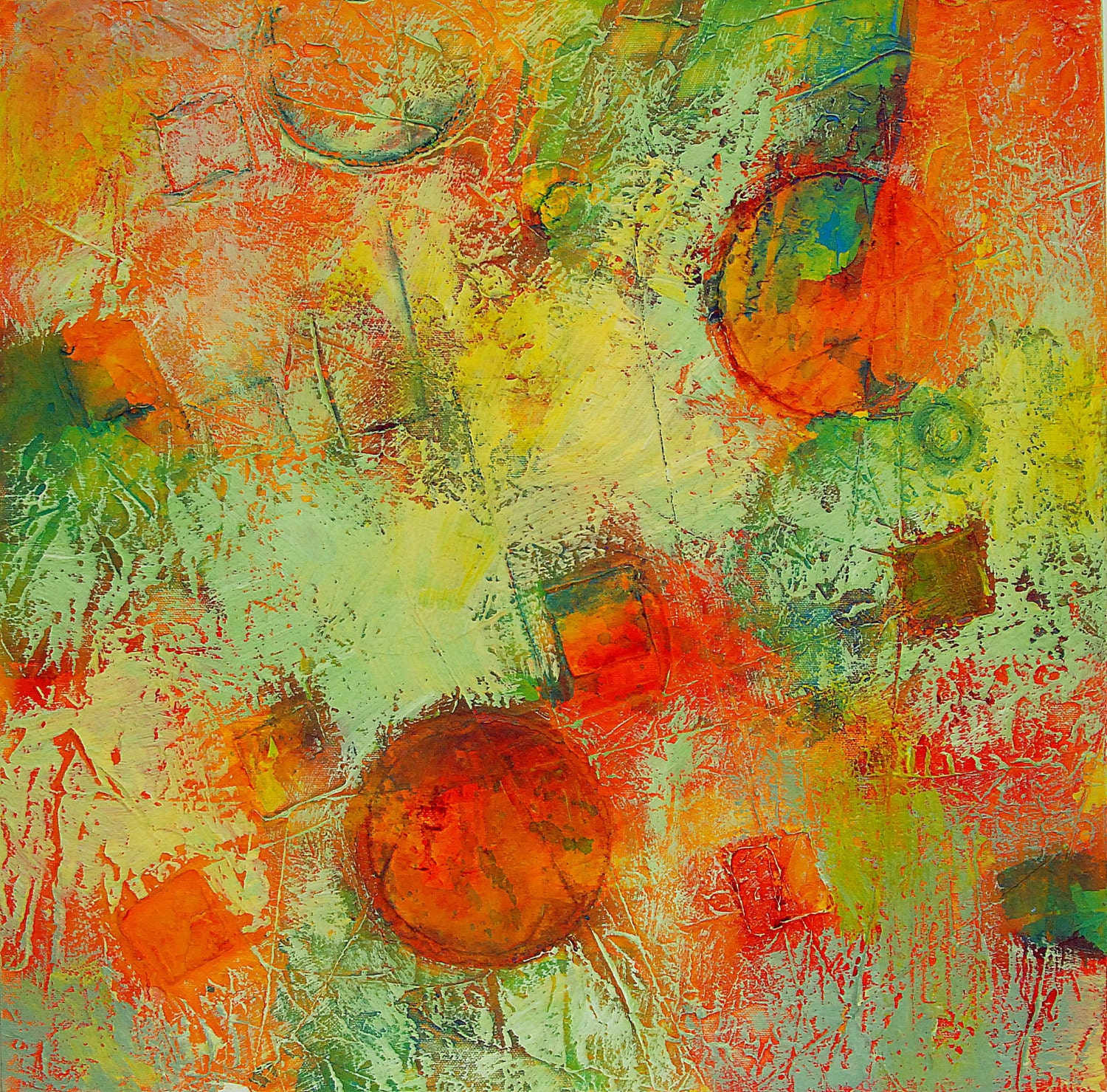 Textured acrylic painting related keywords textured for Textured acrylic abstract paintings
