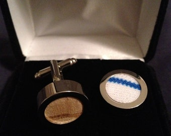 Tier 3: Game Used Cufflinks Authentic