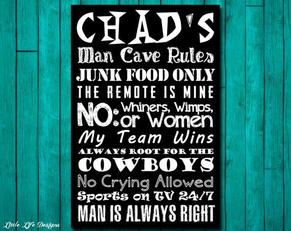 Man Cave Signs Sports : Men s gift personalized gifts for sports man cave