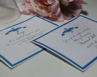 RSVP card with Envelope