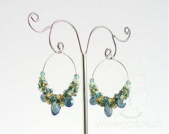 Echo Dance Earrings - Beading Pattern - PRAW