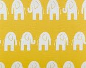 Yellow elephant fabric, Premier Prints Ele Corn Yellow - Yellow Elephant Fabric -  By the Yard