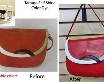 Red #12 Tarrago Self Shine Leather Dye