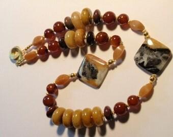 Chalcedony Necklace (JK 488)