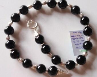 Onyx Necklace,  black (JK 371)
