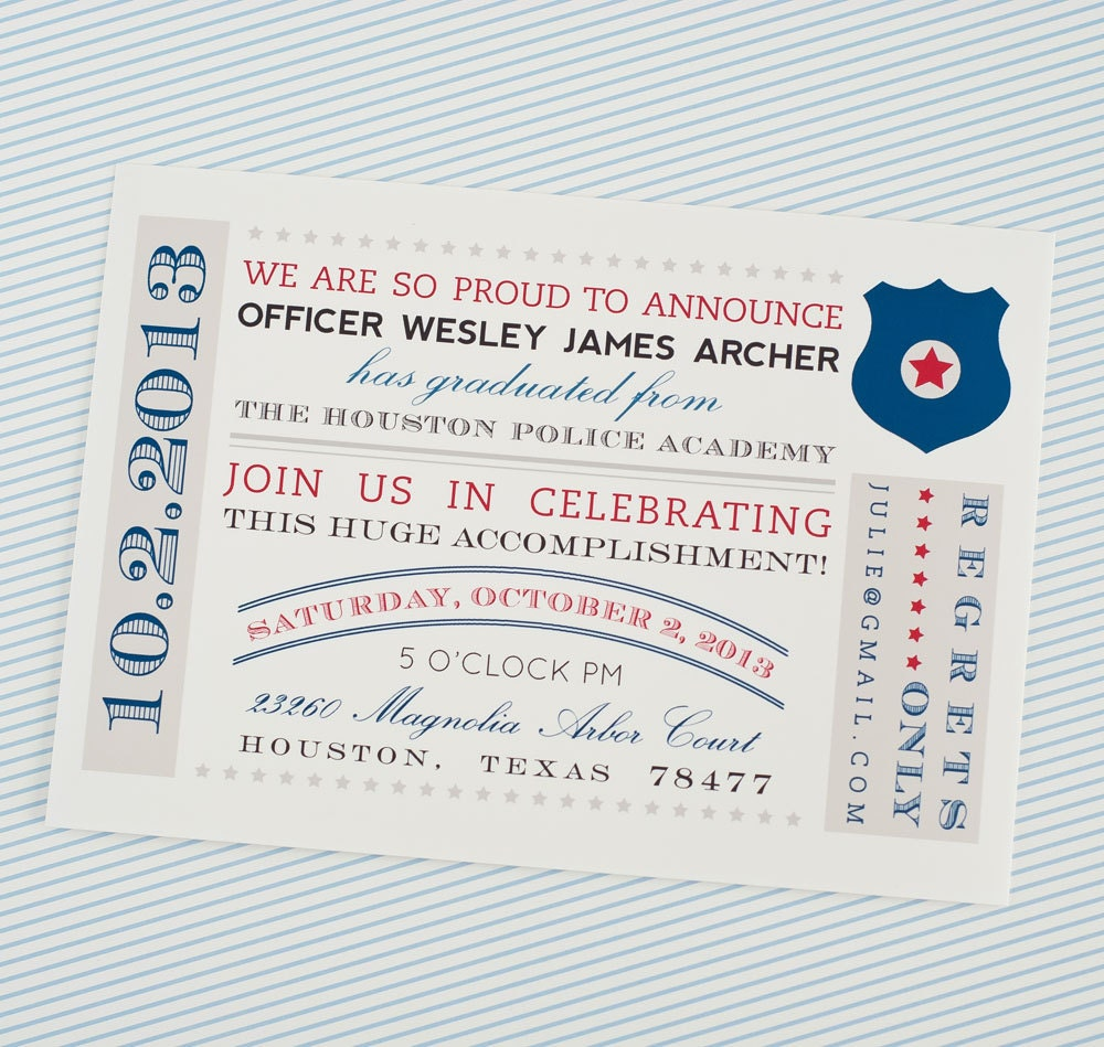 Firefighter Retirement Invitations was good invitations sample