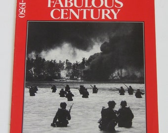 TIME Magazine-This Fabulous Century 1940-1950 Iconic Photos -Collectible Book World War II, Rations, Fashions, WAR Years