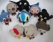 Crochet Bird Characters