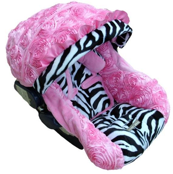 Zebra Infant Car Seat Covers