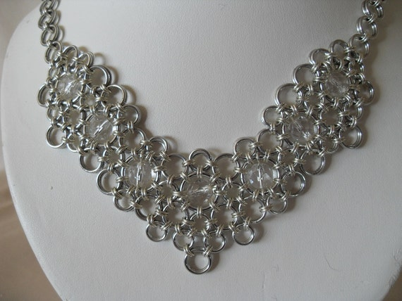 Bridal Chainmaille Necklace