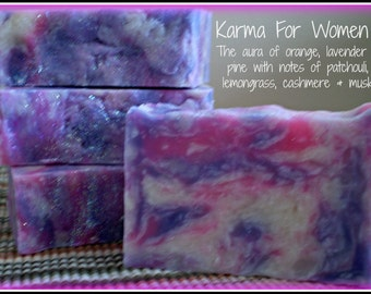 Karma - Rustic Suds Natural - Organic Goat Milk Triple Butter Soap Bar - 5-6oz. Each