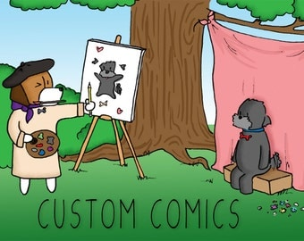Custom Comic Strip