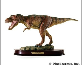 """Tyrannosaurus Rex / T.rex (T-rex) Dinosaur Finished """"Fleshed-Out"""" Model, 1:35 Scale"""