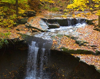 Bluehen Falls, CVNP - Inkjet Print - Landscape Photography - Fine Art Print