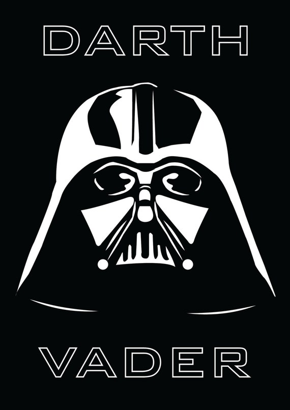 Declarative image in darth vader printable