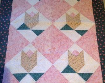 Tulip Baby Quilt