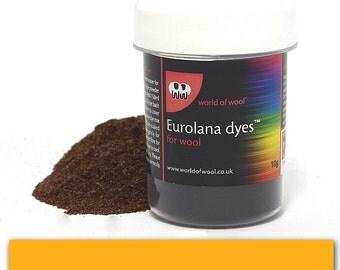 Soft Yellow - Eurolana Wool Dye - Hand Dye Your Own Wool - Roving/Top