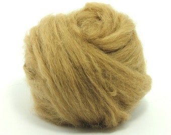 De-Haired Baby Camel Top / Roving - Spinning Fibre / Fiber - Felting