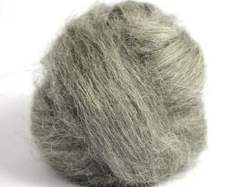 Grey Gotland Top / Roving - Felting - Spinning - Crafts - 100g / 3.5oz