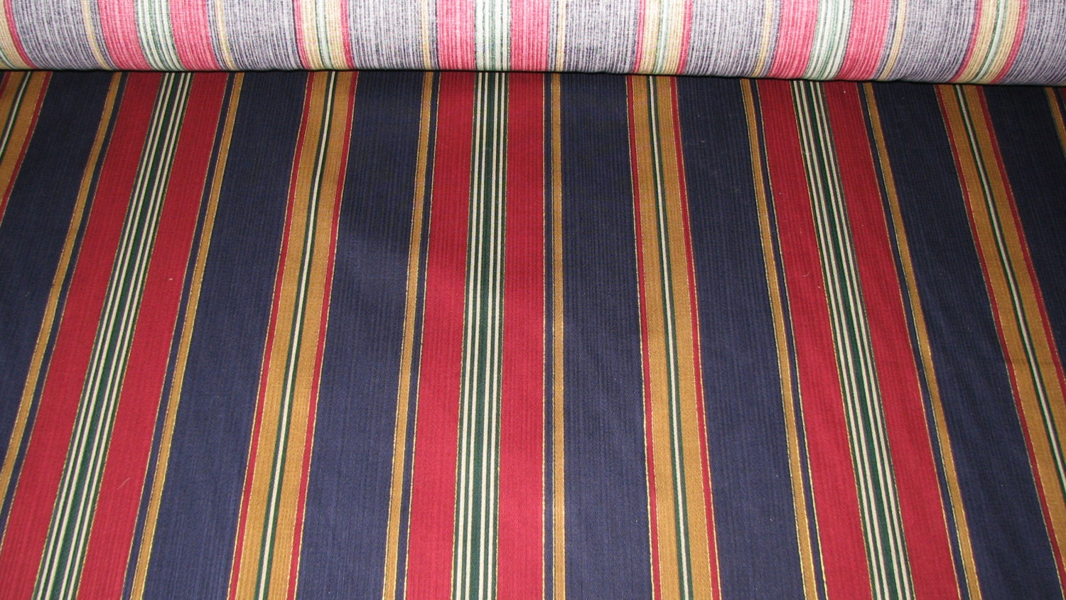 home decor fabric stripes vivid colors sold by the yard. Black Bedroom Furniture Sets. Home Design Ideas