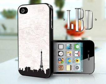 iPhone 4 4s Case - Paris Map iP4