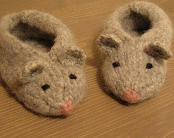 Mouse slippers baby children shoes