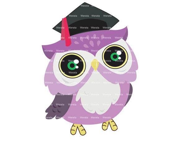 School Clipart Clip Art Owl Graduation Clip Art owl by Werata
