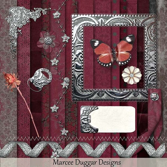 Ann Maree Digital Scrapbooking Kit