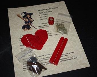Venus Love Spell kit - Draw love