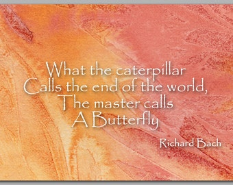 Inspirational Quote by Richard Bach - Also available as a Print with a Free Mat - Great Gift Idea (CGRAD2013020)