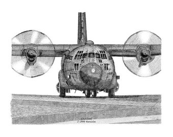 Made in the USA! Lockheed C-130H Hercules