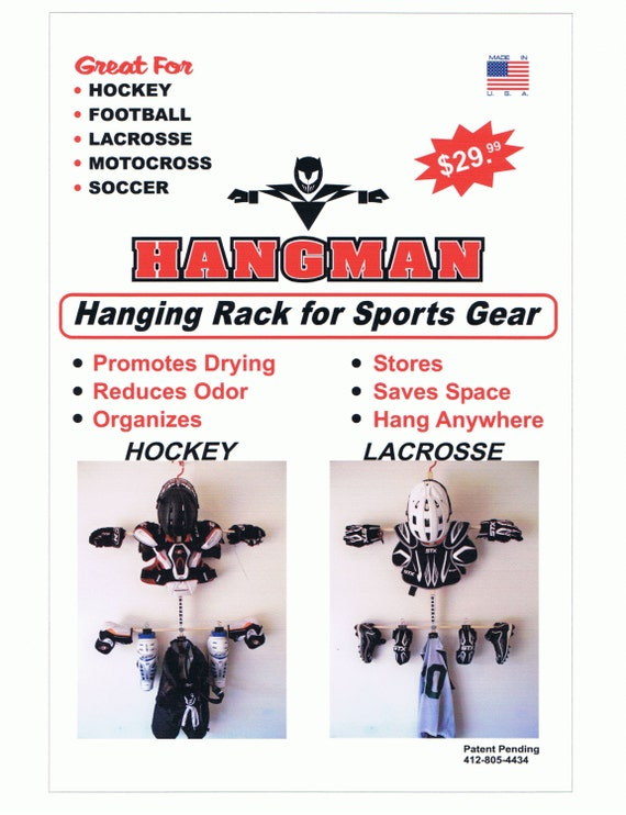 Items Similar To Drying Rack For Sports Equipment (hockey, Lacrosse, And  Football) On Etsy